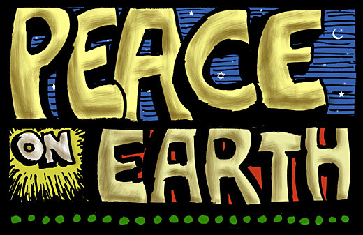 Peace Photoshop colored