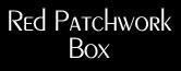Red Patchwork Box
