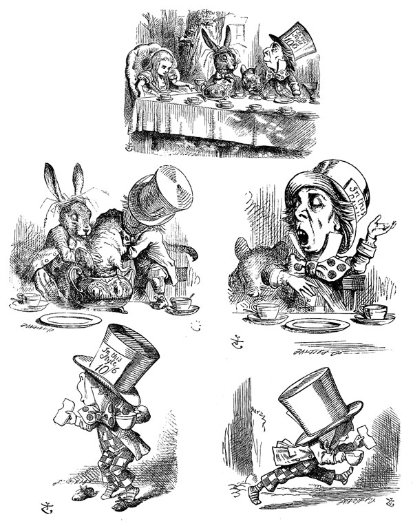alice in wonderland characters ringer